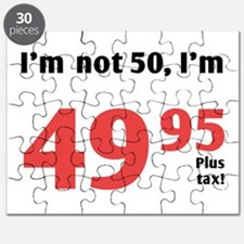 Funny Tax 50th Birthday Puzzle