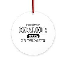 Excalibur University Ornament (Round)
