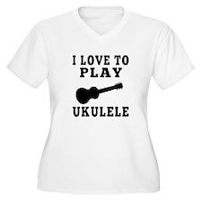 I Love Ukulele T-Shirt