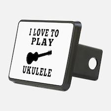 I Love Ukulele Hitch Cover