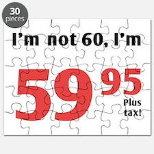 Funny Tax 60th Birthday Puzzle