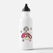 Grandma Knits Water Bottle
