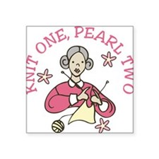 Knit One, Pearl Two Sticker