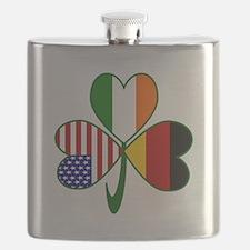 Shamrock of Germany Flask
