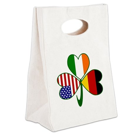 Shamrock of Germany Canvas Lunch Tote