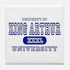 King Arthur University Tile Coaster
