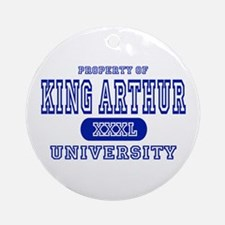 King Arthur University Ornament (Round)