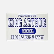 King Arthur University Rectangle Magnet