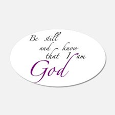 Be still Wall Decal