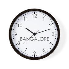 BANGALORE Modern Newsroom Wall Clock
