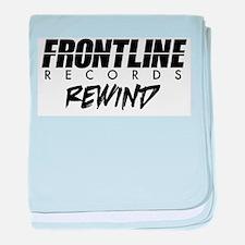 Frontline Rewind baby blanket