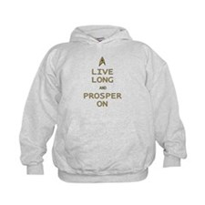 Live Long Prosper On Hoodie