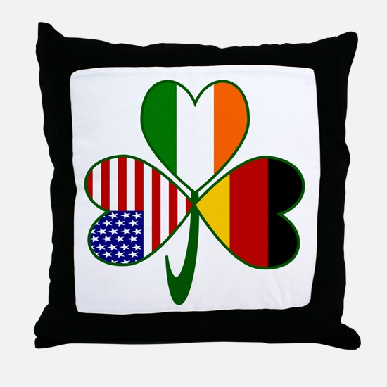 Shamrock of Germany Throw Pillow