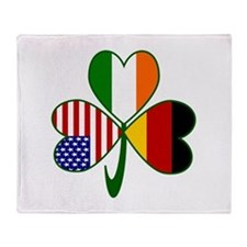 Shamrock of Germany Throw Blanket
