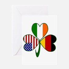 Shamrock of Germany Greeting Card