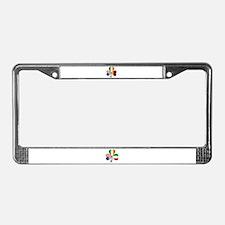 Shamrock of Germany License Plate Frame