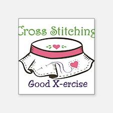 Good X-ercise Sticker