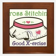 Good X-ercise Framed Tile
