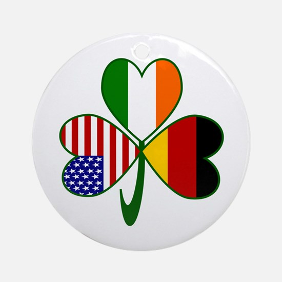 Shamrock of Germany Ornament (Round)