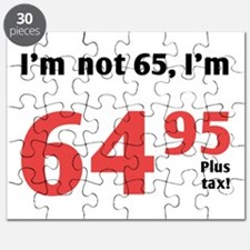 Funny Tax 65th Birthday Puzzle