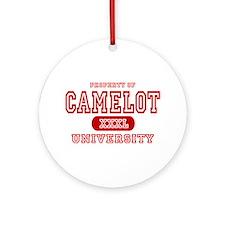 Camelot University Ornament (Round)