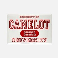 Camelot University Rectangle Magnet