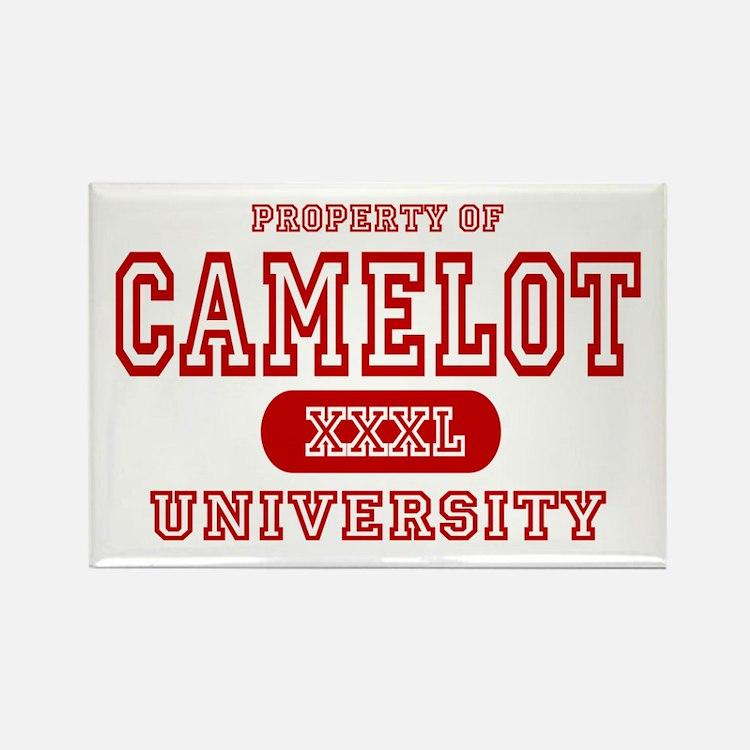 Camelot University Rectangle Magnet
