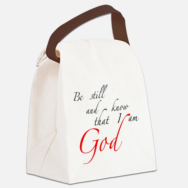 Be still Canvas Lunch Bag