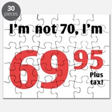 Funny Tax 70th Birthday Puzzle