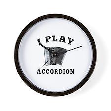 Accordion designs Wall Clock