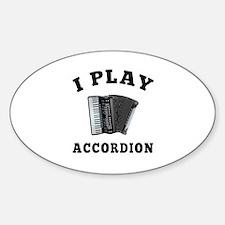 Accordion designs Decal