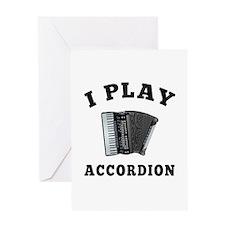Accordion designs Greeting Card