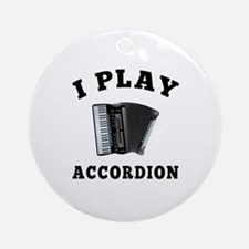 Accordion designs Ornament (Round)