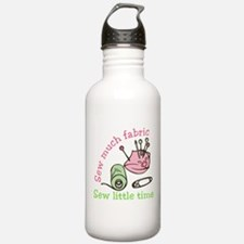 Sew Much Fabric Water Bottle