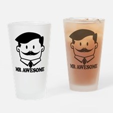 Mr Awesome Drinking Glass