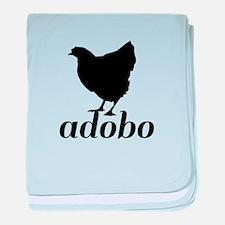 Chicken Adobo baby blanket