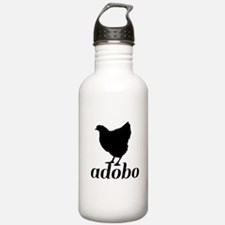 Chicken Adobo Water Bottle