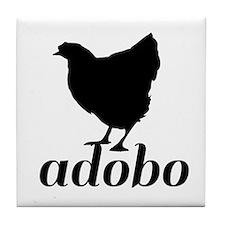 Chicken Adobo Tile Coaster