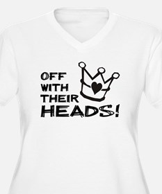 Queen of Hearts - Off With Their Heads Plus Size T