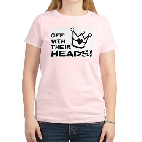 Queen of Hearts - Off With Their Heads T-Shirt