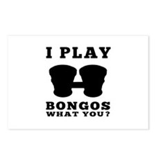 I Play Bongos Postcards (Package of 8)