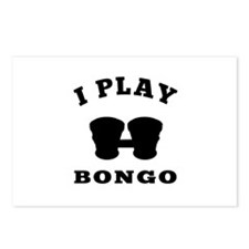 Bongo designs Postcards (Package of 8)
