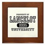 Lancelot University Framed Tile