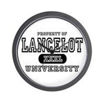 Lancelot University Wall Clock
