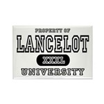 Lancelot University Rectangle Magnet