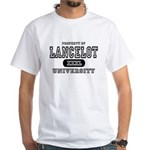 Lancelot University White T-Shirt