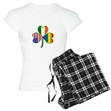 Gay Pride Shamrock Pajamas