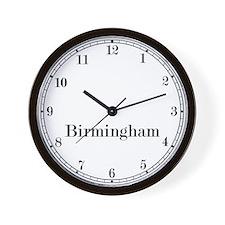 Birmingham Classic Newsroom Wall Clock
