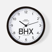 Birmingham,UK BHX Airport Newsroom Wall Clock