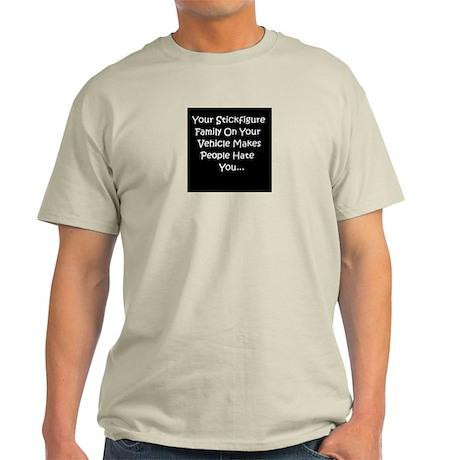 Stick Figure hate T-Shirt